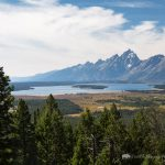 Jackson Lake and Teton Mountains