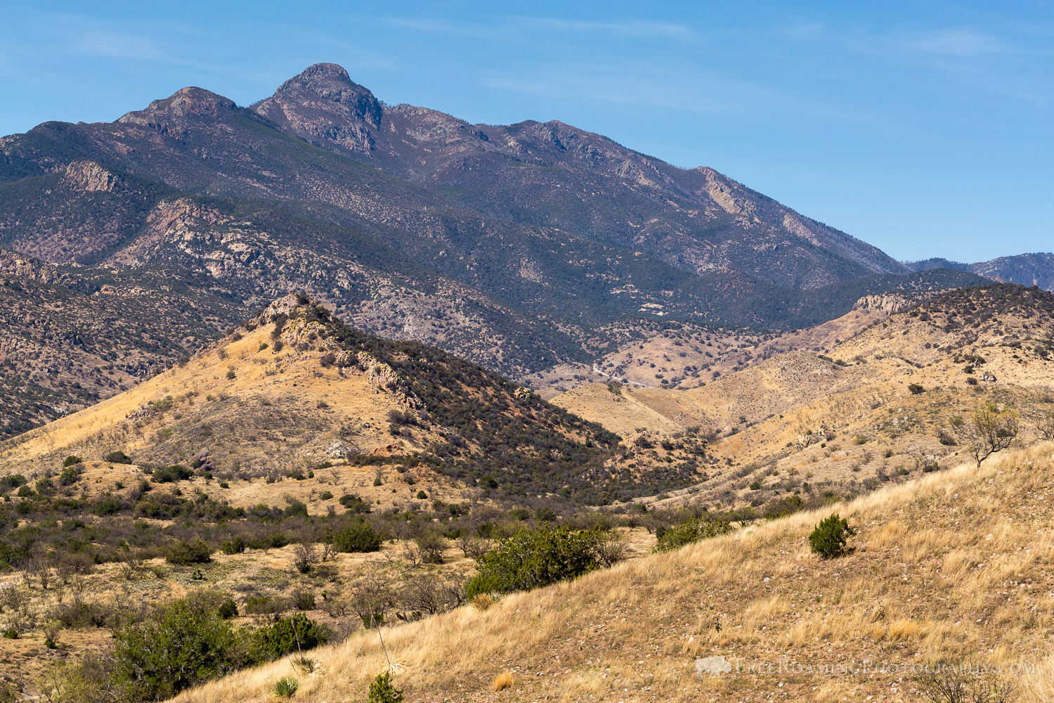 Mount Wrightson Above Foothills