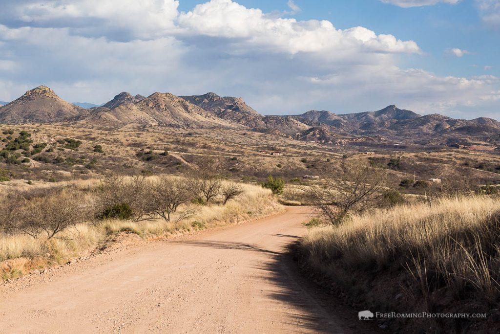 Arizona Trail Leaving Patagonia, Arizona