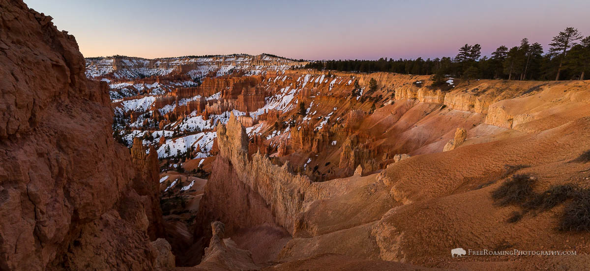 Morning Light on Bryce Canyon