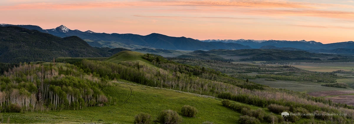Gros Ventre Mountain Foothills