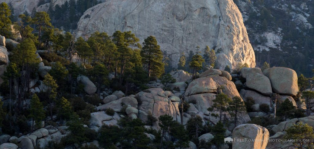 Granite Boulders and Outcroppings