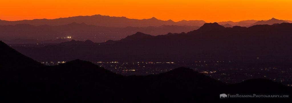 Tucson at Twilight