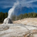 Lone Star Geyser Eruption