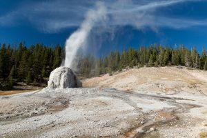 Lone Star Geyser Eruption