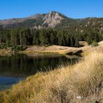 Beaver Ponds and Mountains