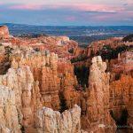 Sunset over Fairyland Canyon