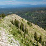 Bannock Trail on Rocky Ridgeline