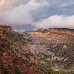 Rainbow over Fremont River