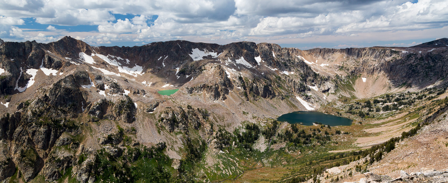 Lake Solitude and Mica Lake