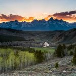 Gros Ventre Road and Foothills