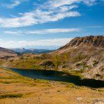 Gardner Lake and Tibbs Butte