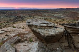 Sunrise Over Badlands