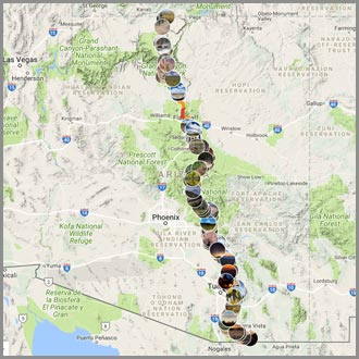 Arizona Trail Route