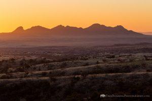 Sunrise over Southern Arizona