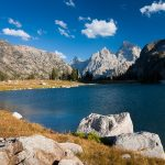 Lake Solitude and Cathedral Group