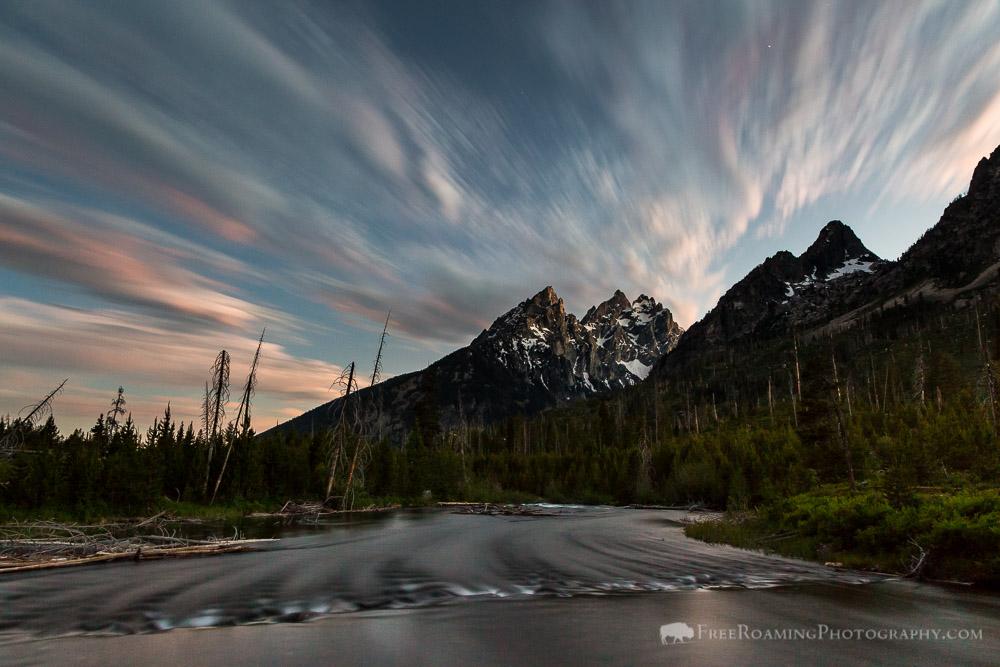 String Lake at Twilight