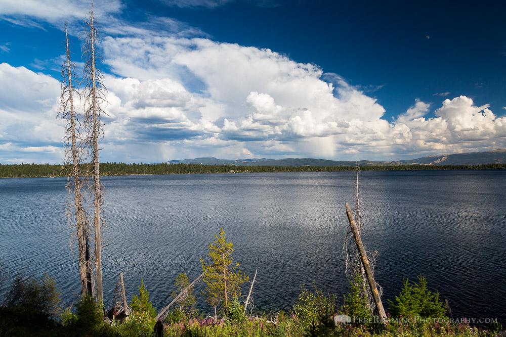Thunderstorms Above Jenny Lake
