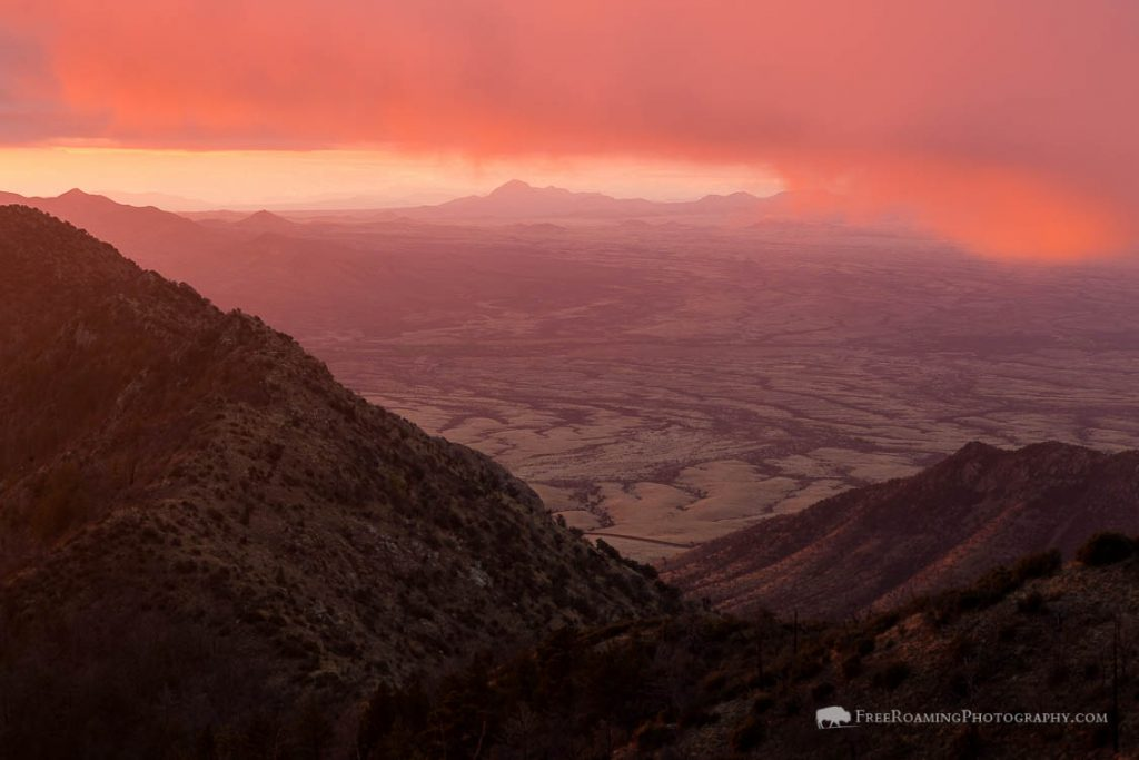 Huachuca Mountains Sunrise