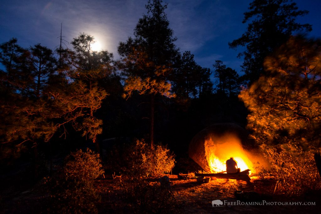 Camping in the Wilderness of Rocks