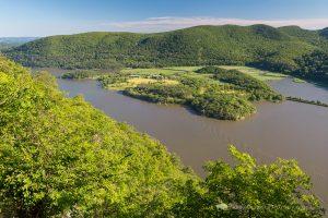 Hudson River and Iona Island