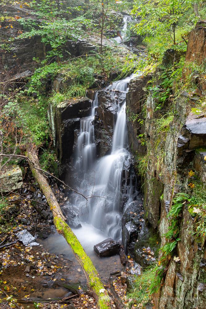 Buttermilk Falls Pouring over Cliffs