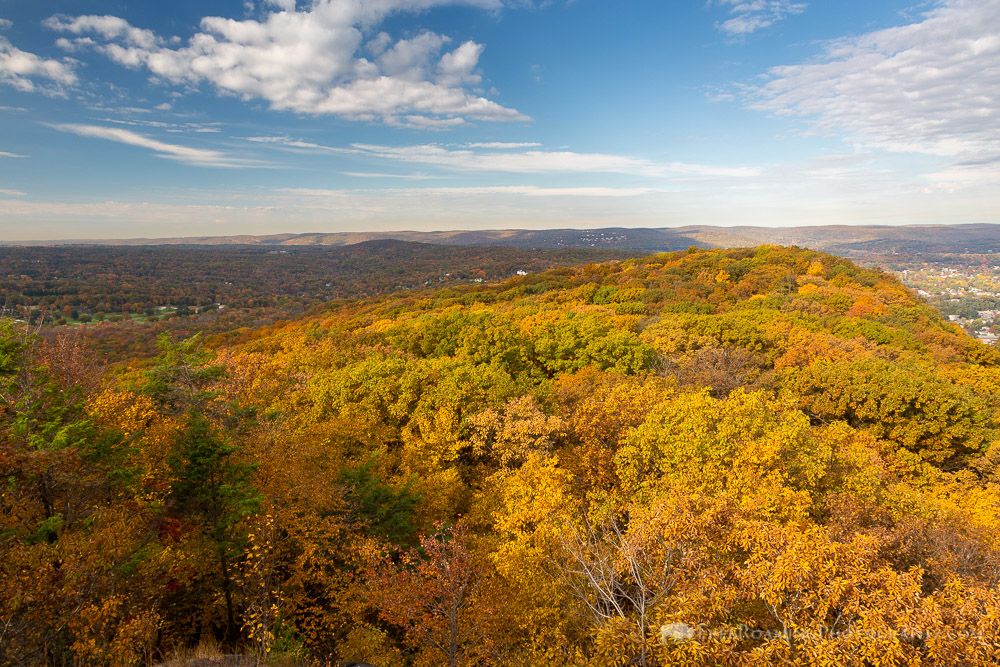 Palisades Covered in Fall Colors