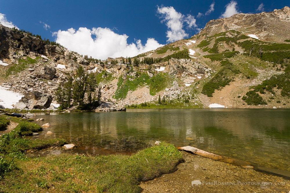 Holly Lake in the Teton Mountains