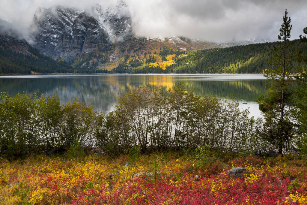 Phelps Lake and Autumn Colors