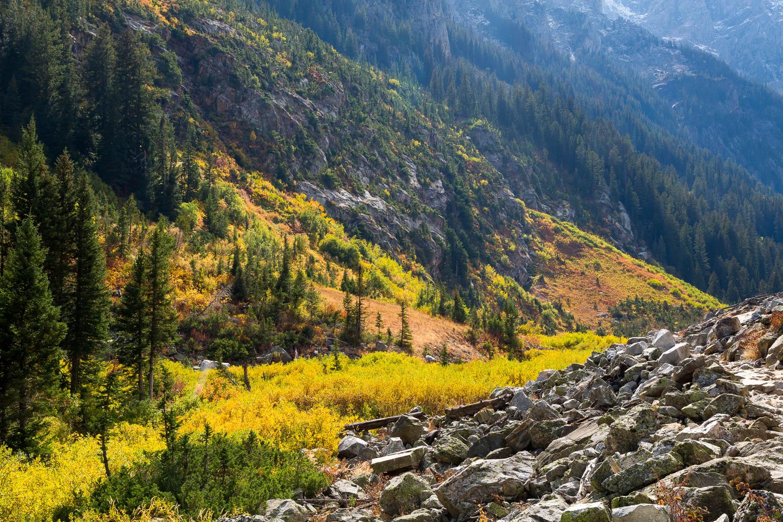 Autumn Colors in Cascade Canyon