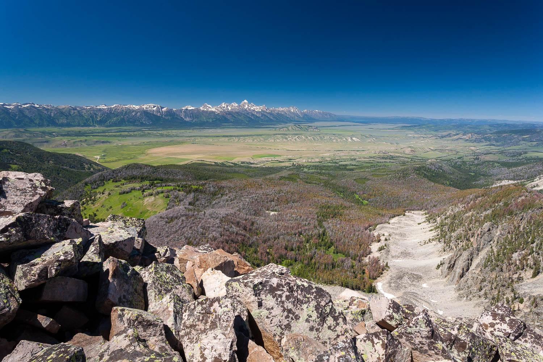 Jackson Hole Below Jackson Peak